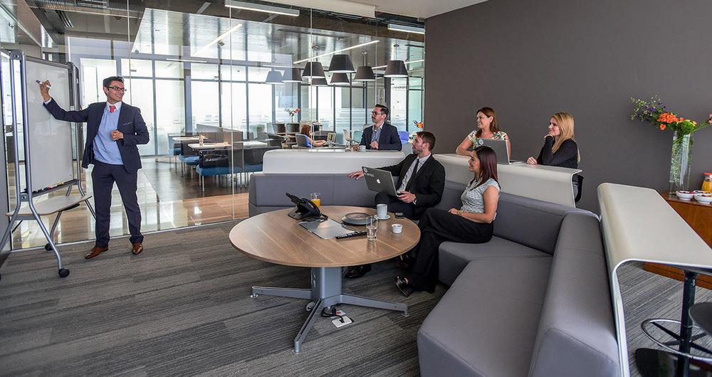 Techo técnico en el diseño de oficinas