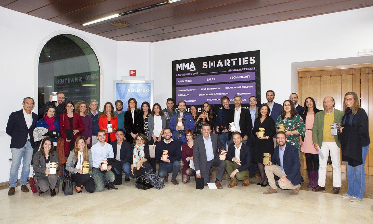 MMA Spain anuncia los ganadores de la II Edición de los Premios Smarties