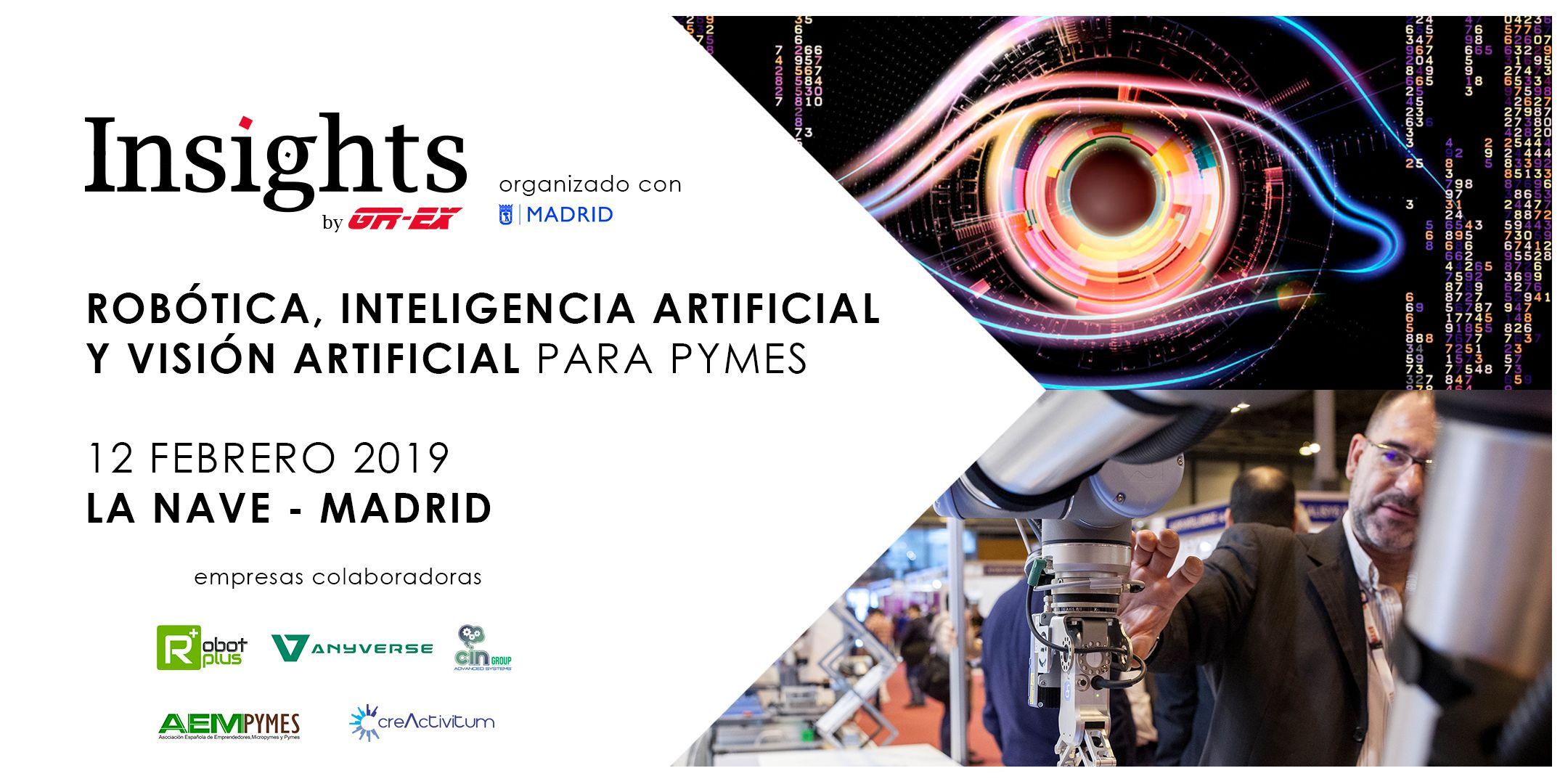 Las PYMES españolas están listas para implementar la Robótica, Visión Artificial e Inteligencia Artificial
