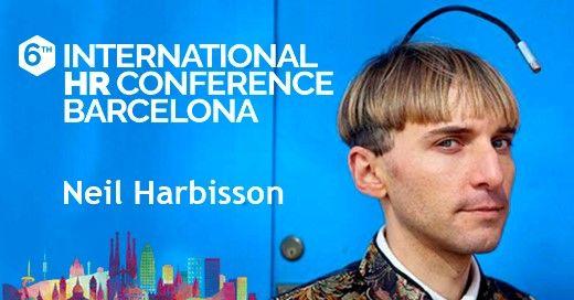 Neil Harbisson, el primer ciborg del mundo, vuelve a Barcelona para participar en la 6th International HR Conference