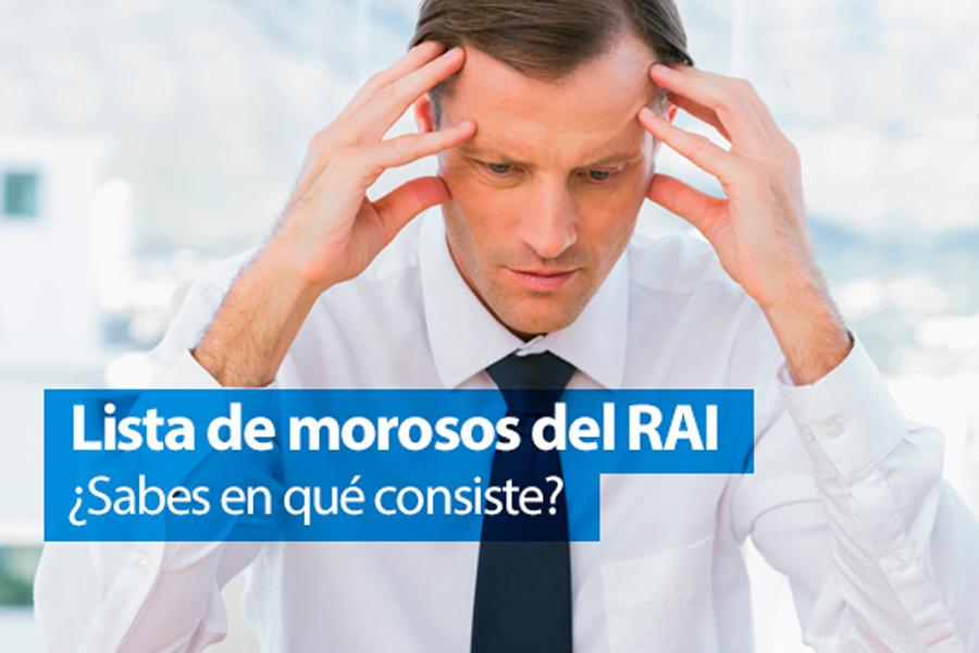 Registro de Aceptaciones Impagadas (RAI)